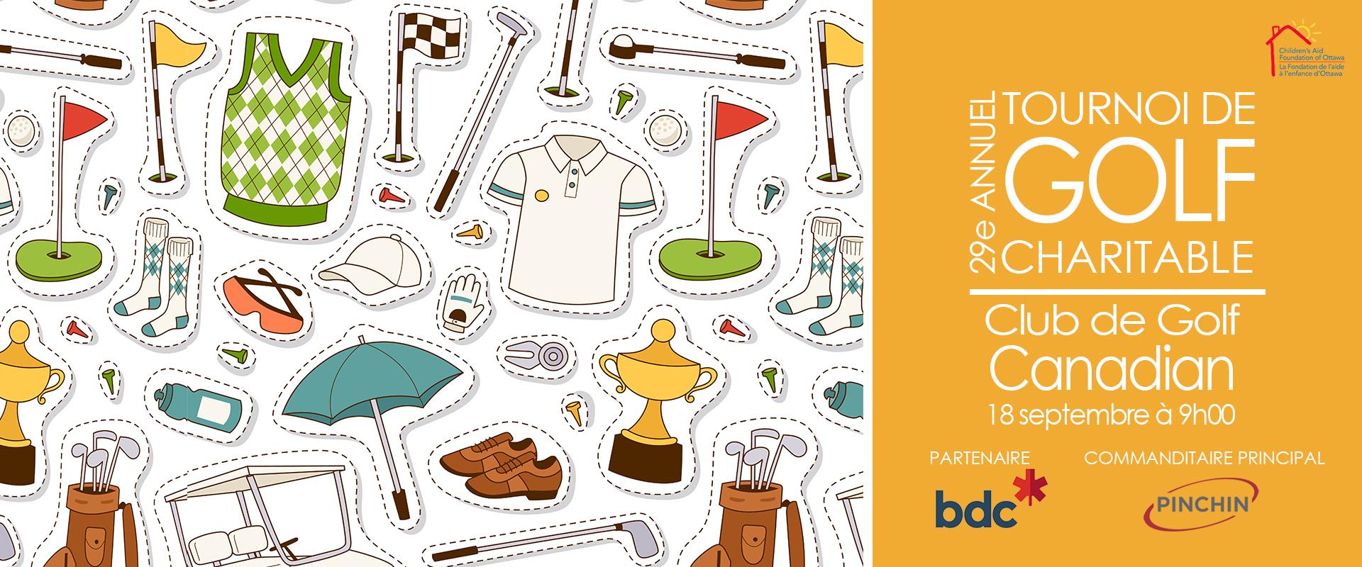 golf tournament website banner fr